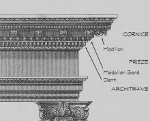 Composite Entablature
