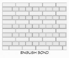 English bond temp