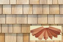 Cedar Shingle sample