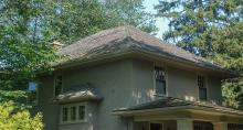 Hipped roof form
