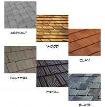 6 Types of Shingles