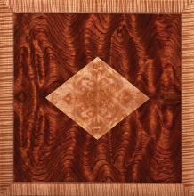 Decorative veneer panel