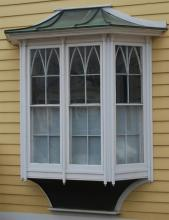 Large Oriel window