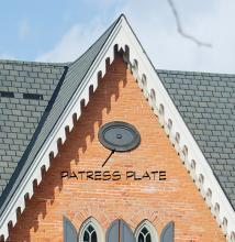 pattress plate sample